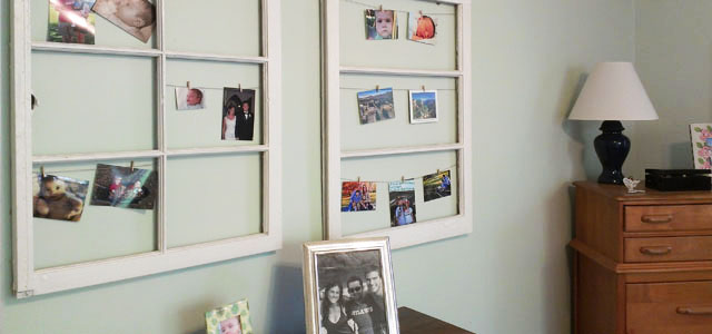 what to do with old window frames