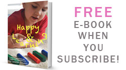 Happy & Learning: Free eBook on homeschooling games for preschoolers