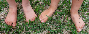 DIY Ant Killer or Ant Poison - Bare feet in summer