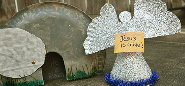 An Easter Craft To Do With Your Kids The Empty Tomb A Good Tired