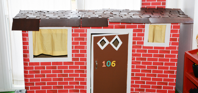 How To Make A Fantastic Playhouse Out Of A Cardboard Box